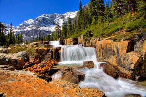 Sentinel Pass Moraine Lake Alberta