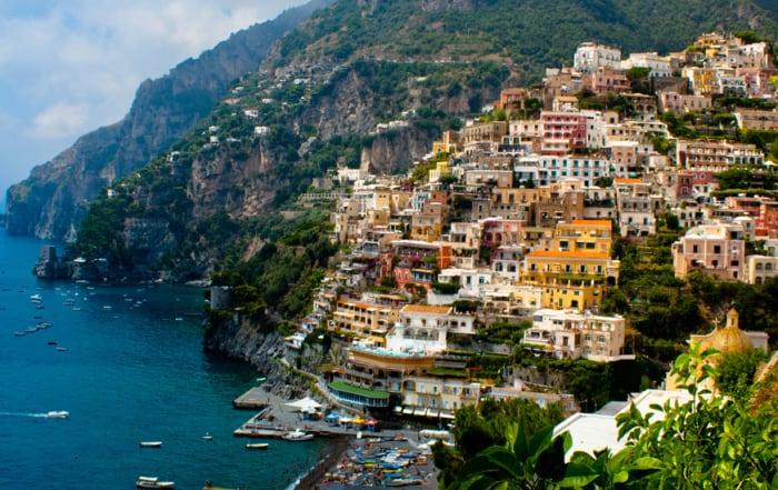 Positano Amalfi Coast Campania Italy