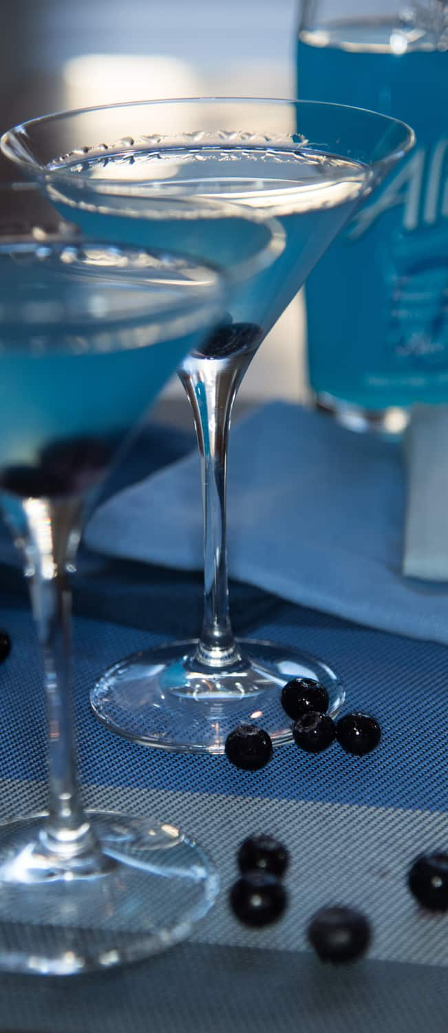 Blueberry Martini Cocktail Recipe