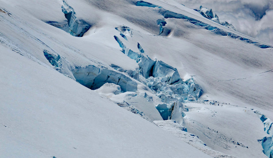 Crevasse Mt Baker