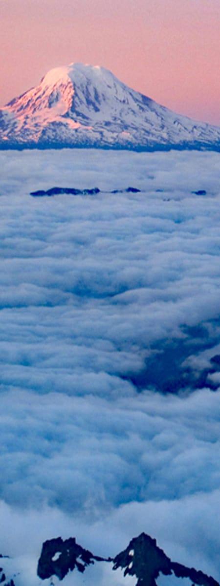 Mt Adams at Sunrise