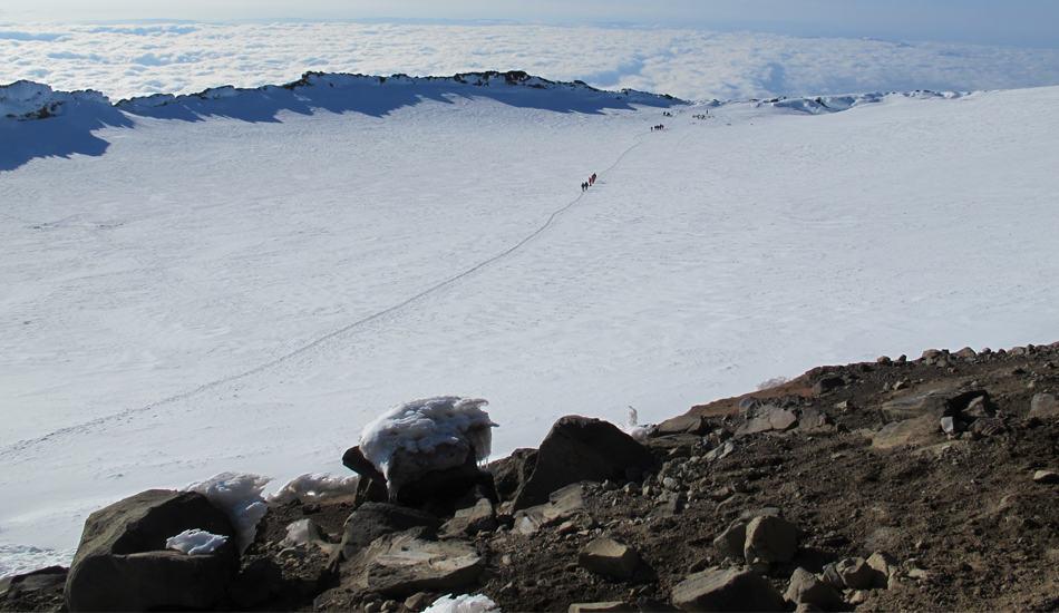 Summit Crater Mt Rainier