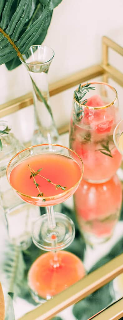 Strawberry Thyme Sparkler | Best Cocktail Recipes